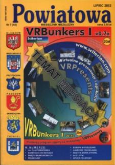 Powiatowa: miesięcznik niezależny, nr 7 (40) (lipiec 2002)