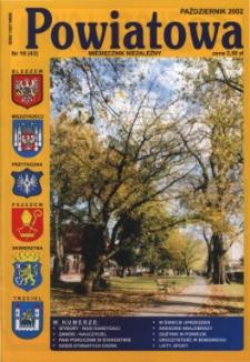 Powiatowa: miesięcznik niezależny, nr 10 (43) (październik 2002)