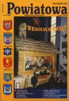 Powiatowa: miesięcznik niezależny, nr 12 (45) (grudzień 2002)