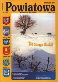 Powiatowa: miesięcznik niezależny, nr 1 (46) (styczeń 2003)