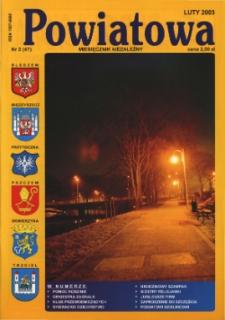 Powiatowa: miesięcznik niezależny, nr 2 (47) (luty 2003)