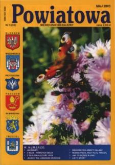 Powiatowa: miesięcznik niezależny, nr 5 (50) (maj 2003)