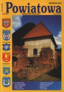 Powiatowa: miesięcznik niezależny, nr 8 (53) (sierpień 2003)