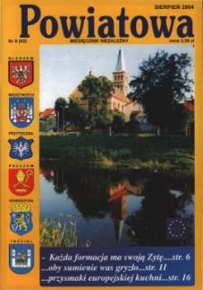 Powiatowa: miesięcznik niezależny, nr 8 (65) (sierpień 2004)
