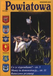 Powiatowa: miesięcznik niezależny, nr 9 (66) (wrzesień 2004)