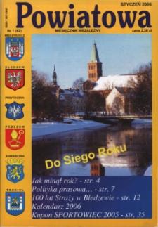 Powiatowa: miesięcznik niezależny, nr 1 (82) (styczeń 2006)