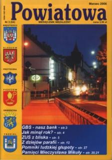Powiatowa: miesięcznik niezależny, nr 3 (84) (marzec 2006)