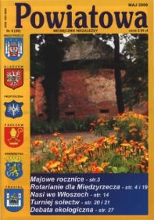 Powiatowa: miesięcznik niezależny, nr 5 (86) (maj 2006)