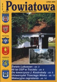 Powiatowa: miesięcznik niezależny, nr 7 (88) (lipiec 2006)