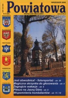 Powiatowa: miesięcznik niezależny, nr 9 (90) (wrzesień 2006)