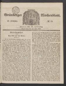 Grünberger Wochenblatt, No. 59. (23. Juli 1857)