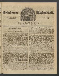 Grünberger Wochenblatt, No. 36. (3. Mai 1860)