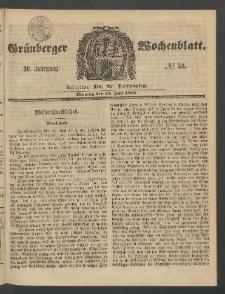 Grünberger Wochenblatt, No. 59. (23. Juli 1860)