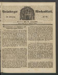 Grünberger Wochenblatt, No. 80. (4. Oktober 1860)