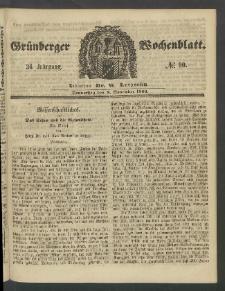 Grünberger Wochenblatt, No. 90. (8. November 1860)