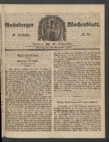 Grünberger Wochenblatt, No. 95. (26. November 1860)