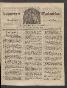 Grünberger Wochenblatt, No. 97. (3. December 1860)