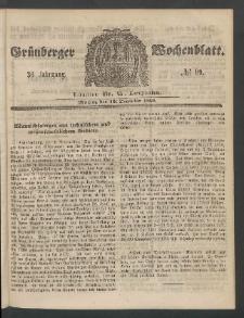 Grünberger Wochenblatt, No. 99. (10. December 1860)