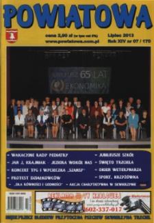Powiatowa, nr 7 (170) (lipiec 2013)