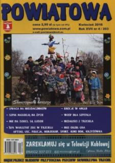 Powiatowa, nr 4 (203) (kwiecień 2016)