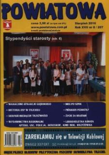 Powiatowa, nr 8 (207) (sierpień 2016)