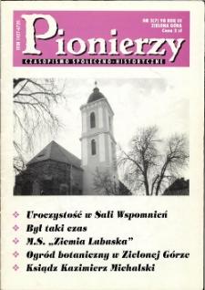 Pionierzy: czasopismo społeczno - historyczne, R. 3, 1998, nr 3 (7)