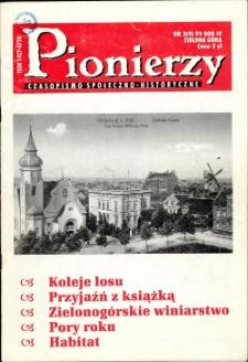Pionierzy: czasopismo społeczno - historyczne, R. 4, 1999, nr 2 (9)