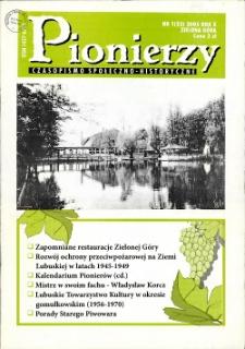 Pionierzy: czasopismo społeczno - historyczne, R.10, 2005, nr 1 (23)