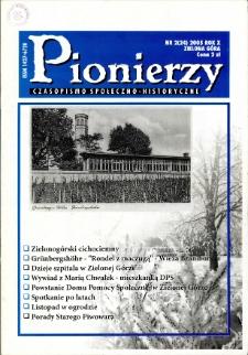 Pionierzy: czasopismo społeczno - historyczne, R. 10, 2005, nr 2 (24)