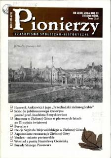 Pionierzy: czasopismo społeczno - historyczne, R. 11, 2006, nr 3 (25)