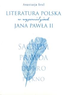 Literatura polska w wypowiedziach Jana Pawła II