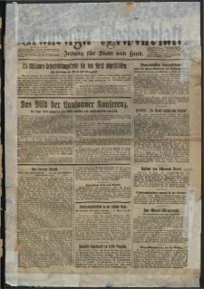 Grünberger Wochenblatt: Zeitung für Stadt und Land, No. 141. (18/19. Juni 1932)