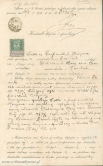 Katarzyna Czerniecka (z d. Hasij) - Kontrakt kupna i sprzedaży