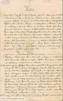 Maciej Czerniecki - Kontrakt darowizny z 17.11.1894
