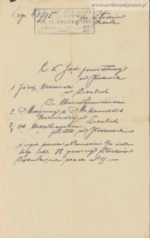 Józef Czerniecki - hipoteczny wpis prawa własności