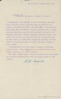 Franciszek Czerniecki - Kontrakt kupna i sprzedaży (uzupełnienie)