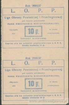 Franciszek Czerniecki - Liga Obrony Powietrznej i Przeciwgazowej