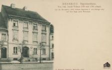 Międzyrzecz / Meseritz; Napoleonhaus