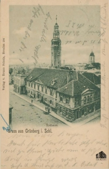 Zielona Góra / Grünberg i. Schl.; Gruss aus Grünberg i. Schl.