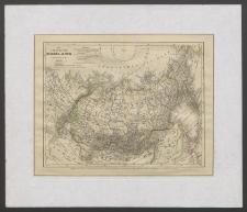 Das Asiatische Russland jenseit des Ural [Dokument kartograficzny]