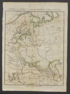 Esquisse de la Politique et du Pouvoir Militaire de la Russie en l'Annee 1817 [Dokument kartograficzny]