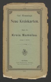 Kreis Namslau : Regierungsbezirk Breslau [Dokument kartograficzny]