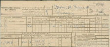 Franciszek Czerniecki - Nakaz płatniczy na podatek gruntowy za rok 1951