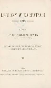 Legiony w Karpatach 1914
