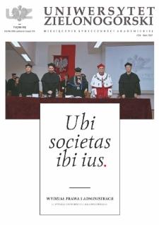 Uniwersytet Zielonogórski, 2014, nr 7/8 (październik-listopad)