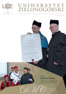 Uniwersytet Zielonogórski, 2015, nr 6 (czerwiec)