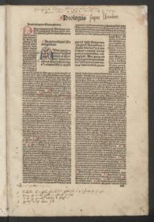 Biblia cum postillis Nicolai de Lyra et expositionibus Guillelmi Britonis in omnes prologos s. Hieronymi et additionibus Pauli Burgensis replicisque Matthiae Doering. T. 3
