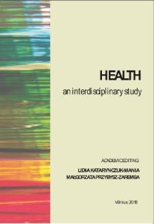 Health an interdisciplinary study - spis treści
