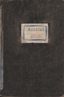 Kronika Szkoły Podstawowej w Brójcach - lata 40.