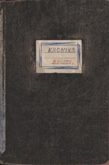 Kronika Szkoły Podstawowej w Brójcach - rok szkolny 1980/1981